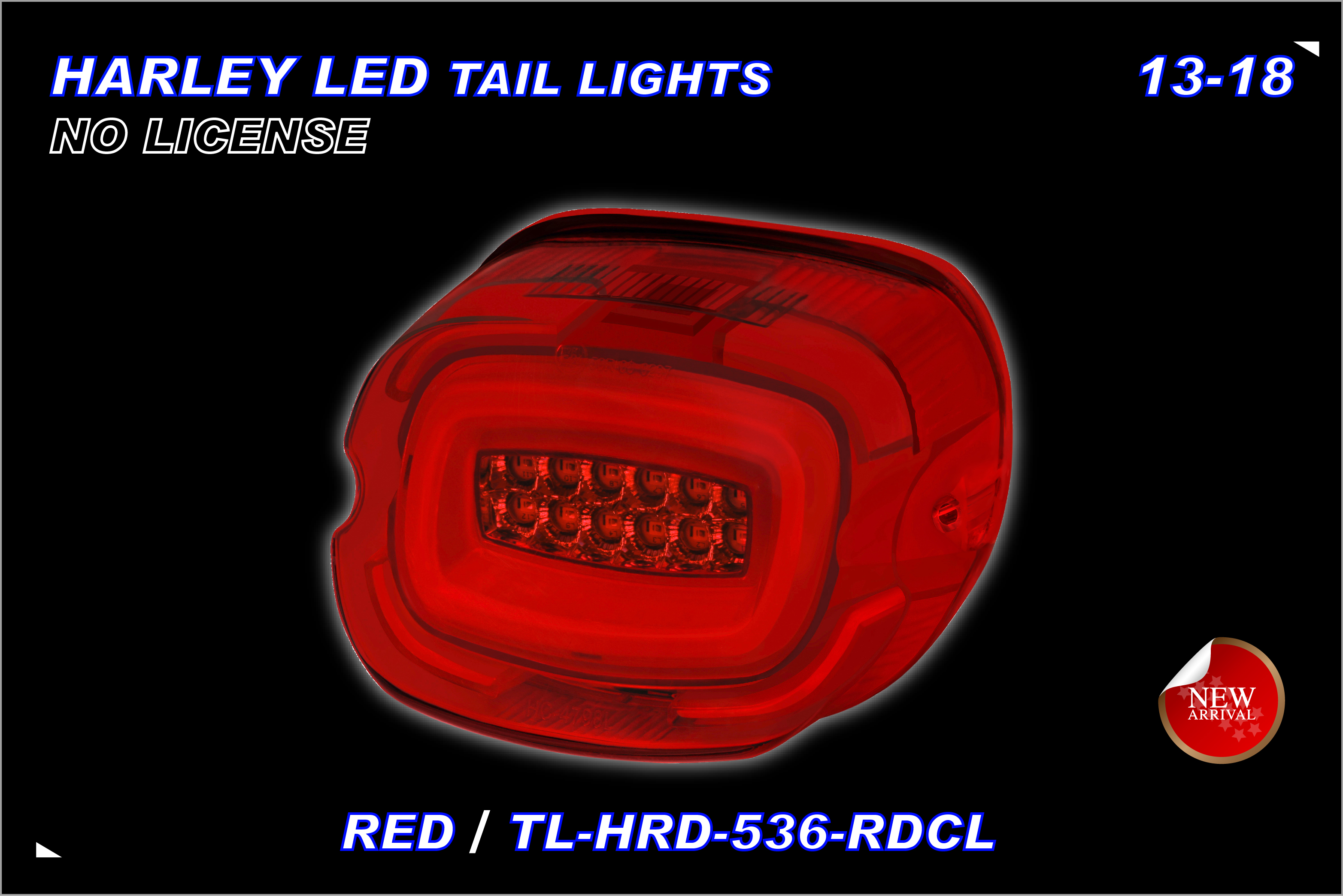 TST,MOTOR-HARLEY-TAILLIGHT-536RDCL