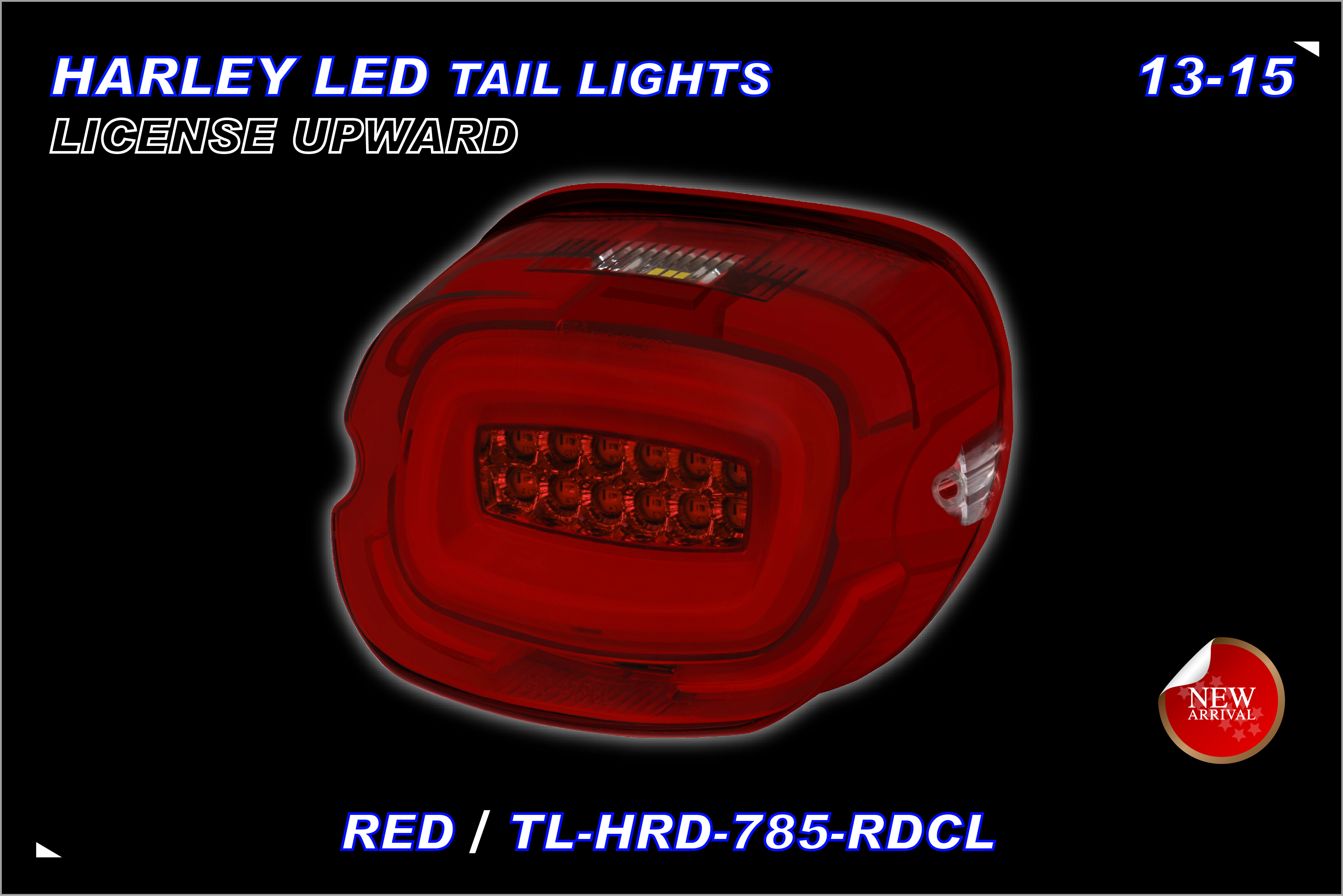 TST,MOTOR-HARLEY-TAILLIGHT-785RDCL